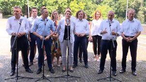 Opozycyjna koalicja zaprezentowała sztab wyborczy.