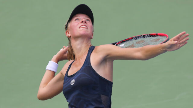 Magdalena Fręch przegrała w kwalifikacjach Wimbledonu