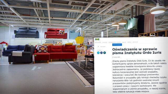 """IKEA pozwana po zwolnieniu pracownika, który """"cytował Pismo Święte"""""""