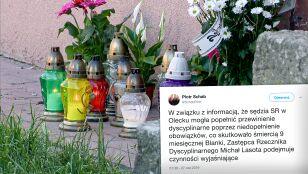 """Dyscyplinarne """"czynności wyjaśniające"""" wobec sędzi po śmierci Blanki z Olecka"""
