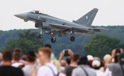 Zderzyły się dwa myśliwce Eurofighter Typhoon
