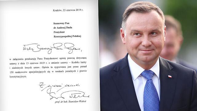 158 naukowców pisze do prezydenta w sprawie zmian w Kodeksie karnym.