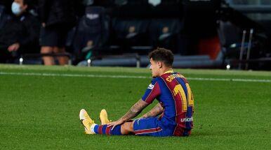 Druga operacja kolana Coutinho. To najpewniej koniec sezonu piłkarza