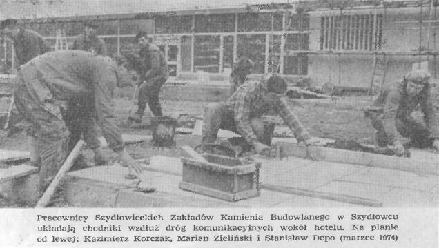 Pracujący robotnicy