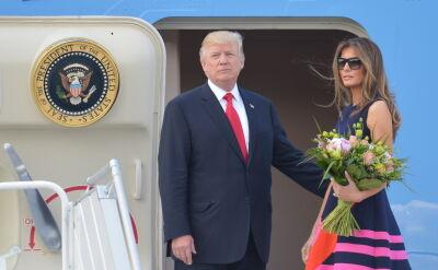 President Trump has left Poland