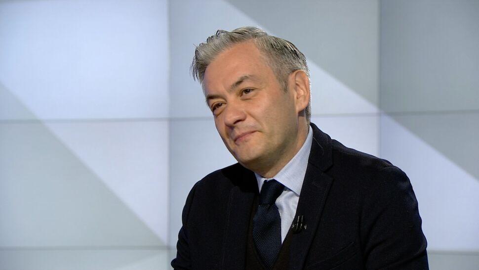 Robert Biedroń był gościem TVN24 w poniedziałek rano