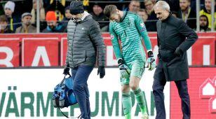 Kontuzja bramkarza Manchesteru United, a lada dzień hit z Liverpoolem