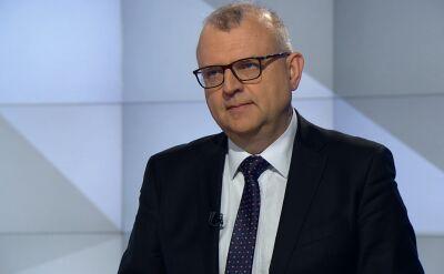 Ujazdowski: nie da się za pomocą nacisków retorycznych zmusić Banasia do dymisji