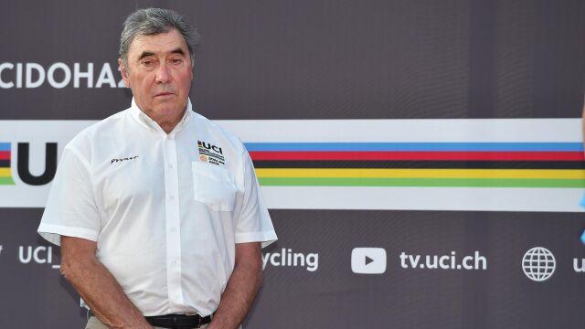 Legendarny Eddy Merckx w szpitalu. Miał poważny wypadek