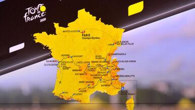 Wszystko jasne. Ujawniono trasę Tour de France 2020