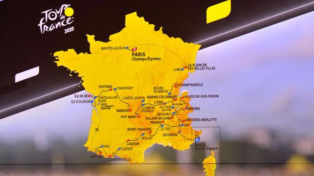 """Ujawniono trasę Tour de France 2020. """"Będzie trudno od początku"""""""