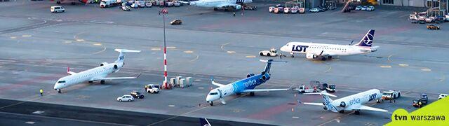 Samolot zawrócił tuż po starcie.  Awaryjne lądowanie na Lotnisku Chopina