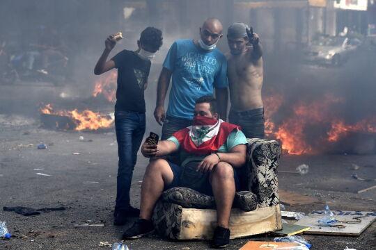 Libańczycy protestują