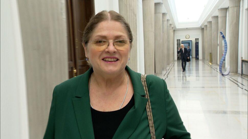 Krystyna Pawłowicz opuszcza sejmowe ławy