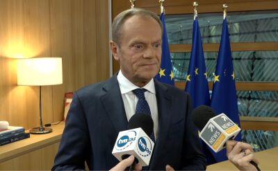 Tusk: uważam, że Polacy za cztery lata dokonają innego wyboru, niż kilka dni temu, jeśli chodzi o Sejm