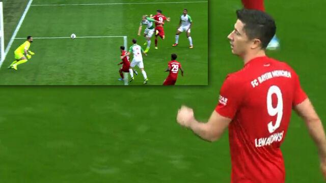 Jak tak strzela Lewandowski, to musi byćgol