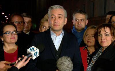 Biedroń: będziemy dbali o to, żeby w parlamencie powstał klub całej lewicy