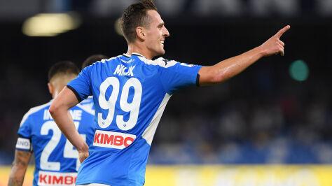 Milik dał wygraną Napoli. Znowu strzela w Serie A