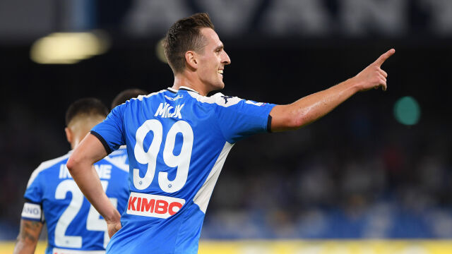 Milik dał wygraną Napoli. Polak znowu strzela w Serie A