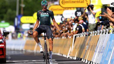 Na metę wjechał w pojedynkę. Niemiecki bohater 12. etapu Tour de France