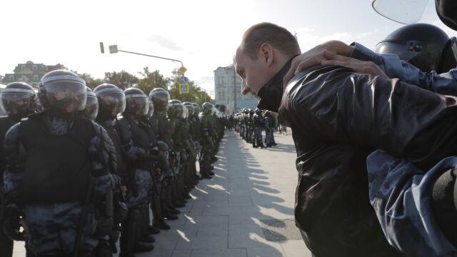 Władze Moskwy zgodziły się  na wiec. Na przemarsz już nie