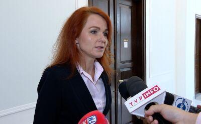 Szefowa Kancelarii Sejmu: oddam się do dyspozycji nowego marszałka