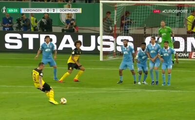 Uerdingen - Borussia Dortmund 0:2 - gol Paco Alcacera