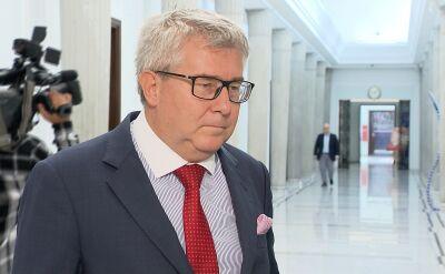 Ryszard Czarnecki o dymisji marszałka Kuchcińskiego