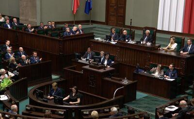 Elżbieta Witek wybrana na stanowisko marszałka Sejmu. Całe przemówienie