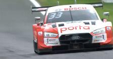 Rast najszybszy w drugim wyścigu na torze Spa w serii DTM, Kubica 14.