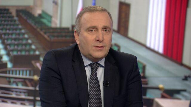 """Grzegorz Schetyna był gościem """"Faktów po Faktach"""""""