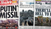 Katastrofa malezyjskiego samolotu na okładkach piątkowych wydań gazet