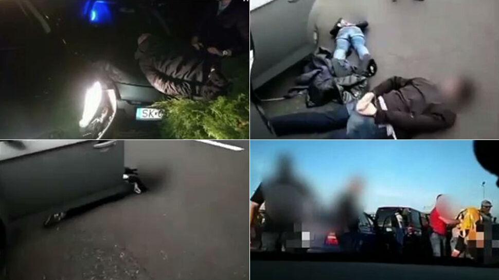"""""""Stój, policja, wracaj, dawaj go"""". Filmy  z pościgów za złodziejami samochodów"""