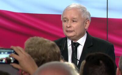 Kaczyński: wygraliśmy z wynikiem, który dobrze wróży
