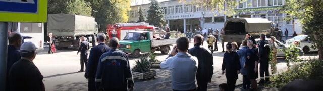 Ukraina oskarża Rosję po ataku w szkole.