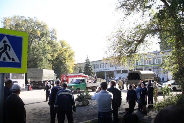 Ukraina oskarża Rosję po ataku w szkole
