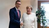 Premier Morawiecki spotkał się z kanclerz Merkel w Brukseli