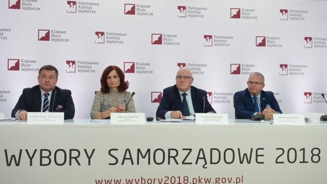 PKW: do godziny 17 najwyższa frekwencja w woj. mazowieckim