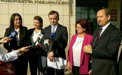Ziobro: Nie widzę powodu, abyśmy nie mogli zadać takiego pytania jak Niemcy polskiemu TK