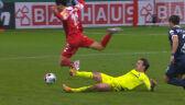 Bramkarz Bochum wyrzucony z boiska w 1. połowie dogrywki