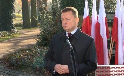 Błaszczak: Wojsko Polskie przygotowuje się bardzo intensywnie do marszu 11 listopada
