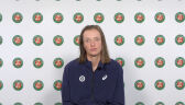 Świątek po awansie do finału gry podwójnej we French Open