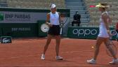 Linette i Pera przełamane w 6. gemie 2. seta półfinału French Open