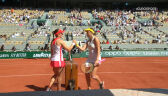 Skrót meczu Pawluczenkowa – Zidansek w półfinale French Open