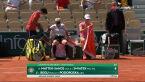 Świątek i Mattek-Sands wygrały 1. seta w półfinale gry podwójnej we French Open