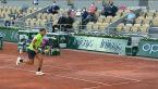 Fenomenalna akcja z początku starcia Nadala z Djokoviciem w półfinale French Open