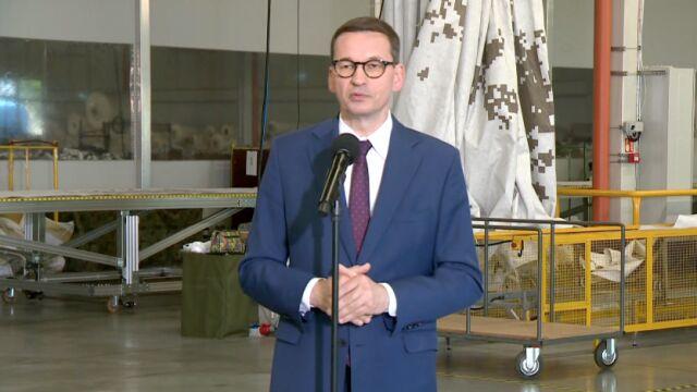Premier Mateusz Morawiecki o porozumieniu z Czechami
