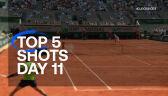 Najlepsze zagrania 11. dnia French Open