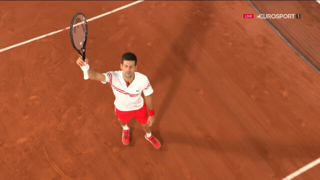 Djoković pokonał Nadala w półfinale French Open