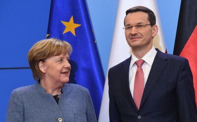 Wystąpienie Merkel po rozmowie z Mateuszem Morawieckim